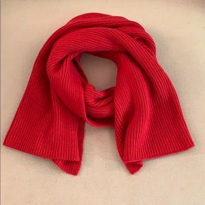 Athleta 50% wool EUC 'Shaker Stitch' scarf